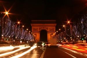Champs Élysées & Arc de Triomphe