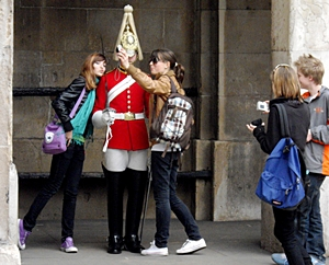 London Tourists - by Rev Stan