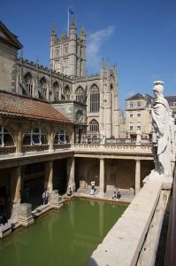 Roman Baths & Abbey - by Exfordy